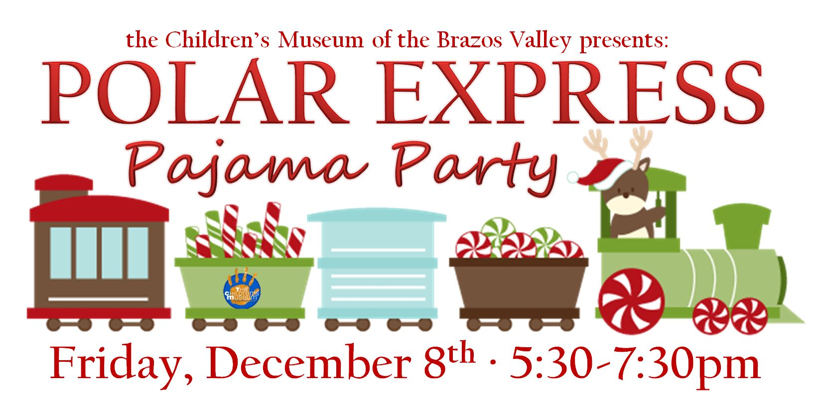 polar express pajama party the children s museum of the brazos valley rh cmbv org polar express clipart black and white polar express clip art free